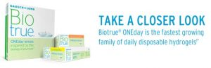 Bio true by Bausch + Lomb