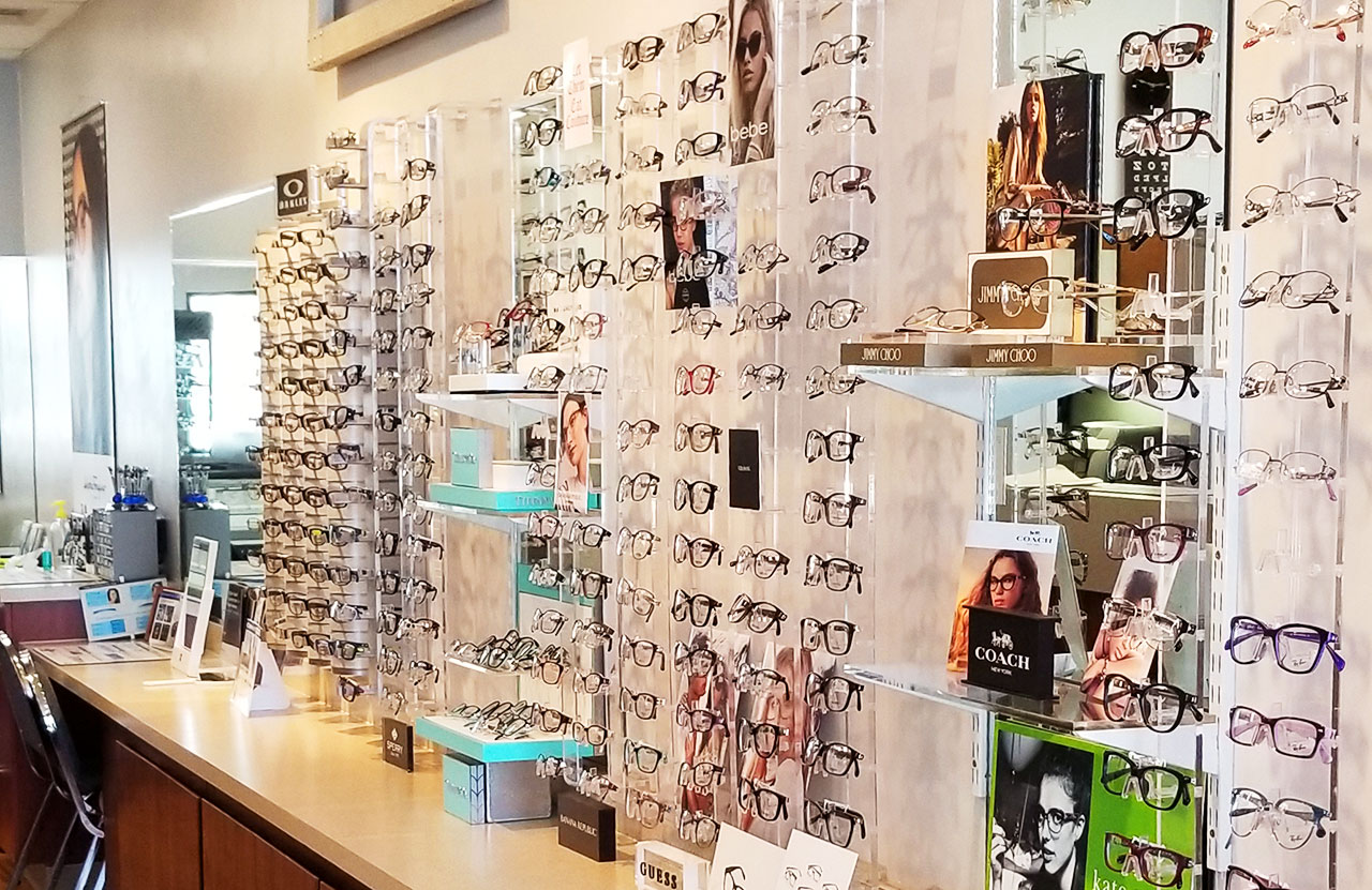 optical department at Vision Care Centers of Hawaii